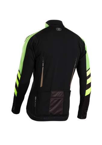 SUGOI Men's RS Zero Long Sleeve Jersey, Berzerker/Super Alt (U675000M)