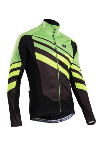 SUGOI Men's RS Zero Long Sleeve Jersey, Berzerker/Super (U675000M)