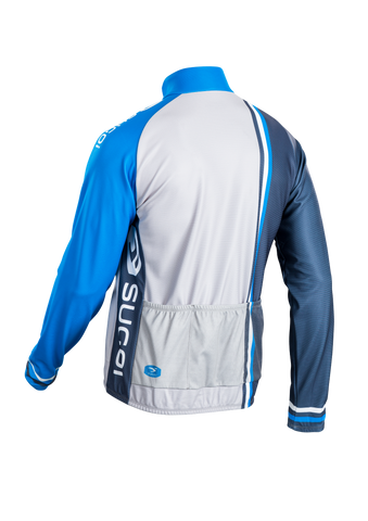 SUGOI Men's Evolution Long Sleeve Jersey, CLB/HGR/DTB Alt (U675500M)