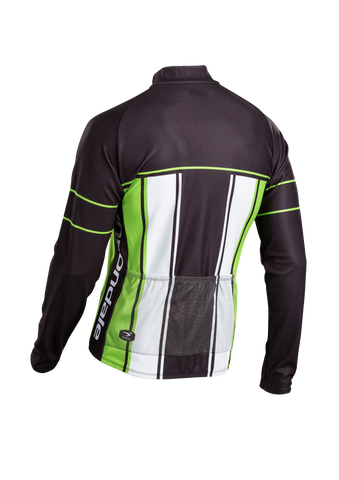 SUGOI Men's Evolution Long Sleeve Jersey, Berzerker/CAN Alt (U675500M)