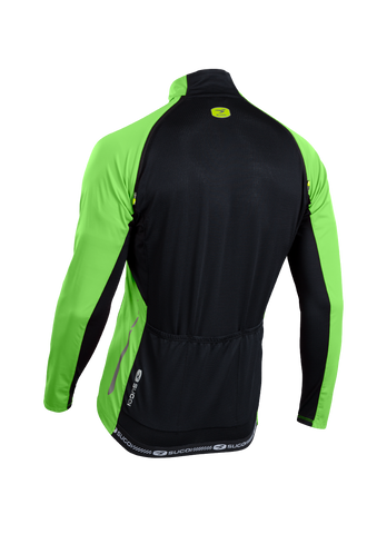 SUGOI Men's RS 120 Convertible Jersey, Berzerker Green Alt (U677500M)