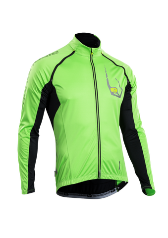SUGOI Men's RS 120 Convertible Jersey, Berzerker Green (U677500M)