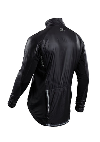 SUGOI Men's RSE Alpha Bike Jacket, Black Alt (70907U)