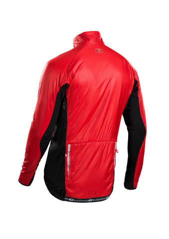 SUGOI Men's RSE Alpha Bike Jacket, Chili red Alt (70907U)