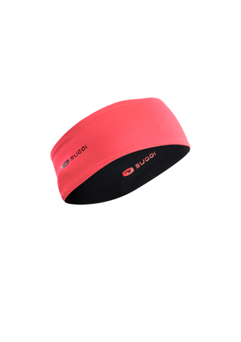 SUGOI Women's Fusion Headband, Electric Salmon (U927000F)