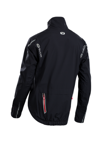SUGOI Men's RSE NeoShell Jacket, Black Alt (72757U)