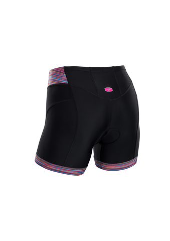 SUGOI Women's RS Tri Shortie, Road Map Print Alt (U211030F)