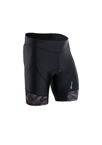 SUGOI Men's RPM Tri Short, Black/Grey/Berzerker (U213030M)