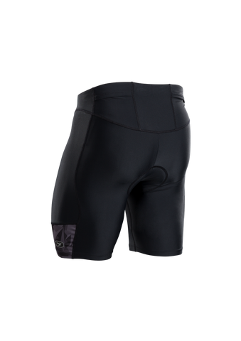 SUGOI Men's RPM Tri Short, Black/Grey/Berzerker Alt (U213030M)