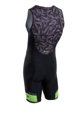 SUGOI Men's RPM Tri Suit, Black/Grey/Berzerker Alt (U293020M)