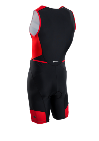 SUGOI Men's RPM Tri Suit, Chili/Black Alt (U293020M)