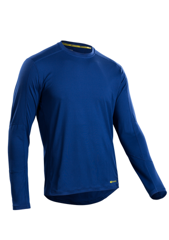 SUGOI Men's Titan Core L/S, Deep Royal (U602000M)