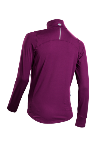 SUGOI Women's Fusion Core Zip, Boysenberry Alt (U607000F)