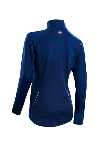 SUGOI Women's MidZero Zip, Deep Royal Alt (U645020F)