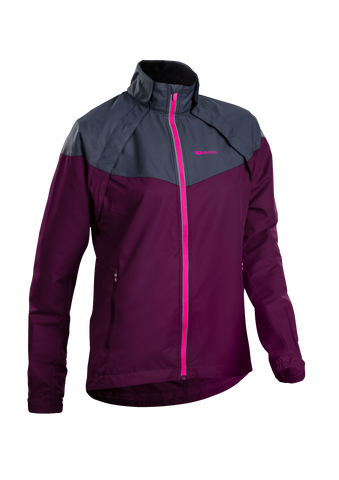 SUGOI Women's Versa Jacket, Boysenberry (U702000F)