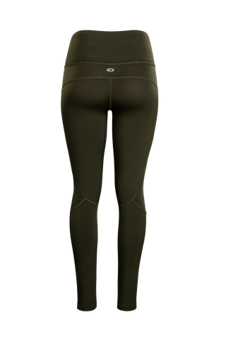 SUGOI Women's MidZero Tight, Deep Olive Alt (U405030F)