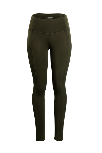 SUGOI Women's MidZero Tight, Deep Olive (U405030F)
