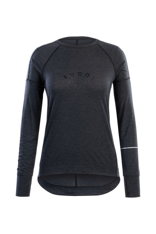 SUGOI Women's Coast Long Sleeve (L/S), Black Origin (U601000F)