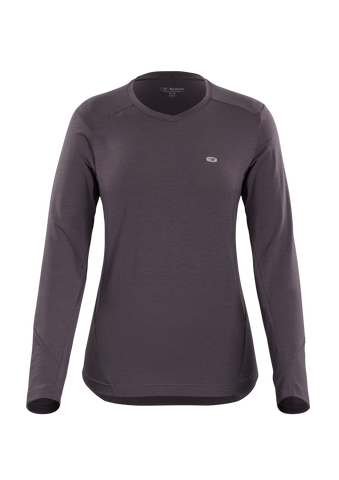 SUGOI Women's Off Grid Long Sleeve (L/S), Dark Charcoal (U605000F)