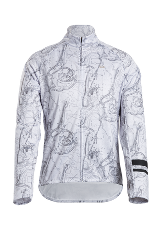 SUGOI Evolution Zap Long Sleeve (L/S) Jersey, Dot to Dot (U675020M)