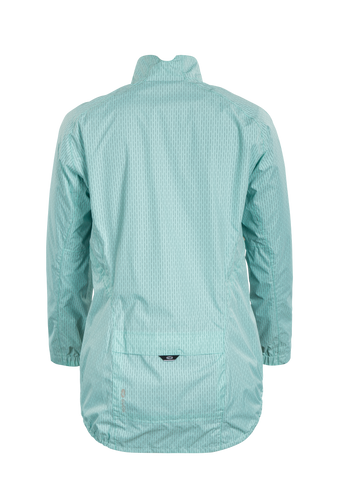 SUGOI Women's Zap Bike Jacket, Teal Pool Zap Alt (U719000F)