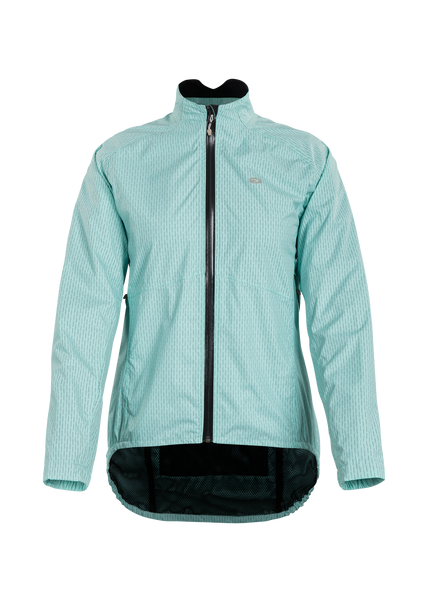 SUGOI Women's Zap Bike Jacket, Teal Pool Zap (U719000F)