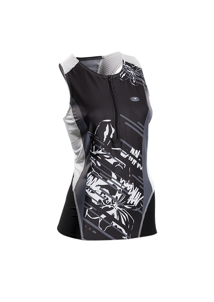 SUGOI Women's RPM Tri Tank, Black (20038F.480)