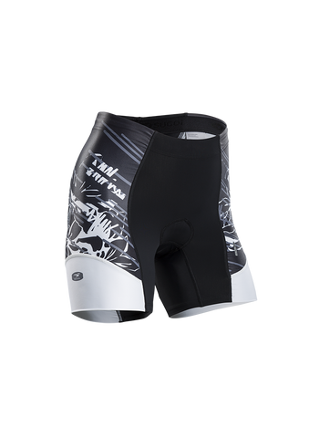 SUGOI Women's RPM Tri Short, Black (21069F.480)