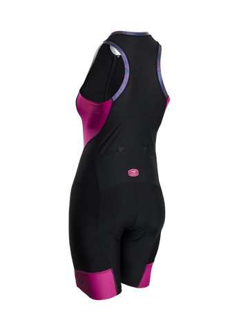 SUGOI Women's RS Tri Suit, Raspberry Sorbet Alt (29669F)
