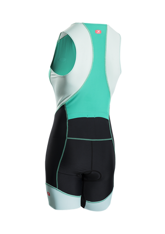 SUGOI Women's RPM Tri Suit, Light Jade Alt (29999F)