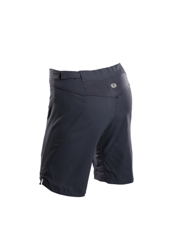 SUGOI Women's Evo X Short, Coal Blue Alt (36330F)