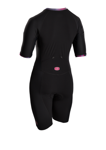 SUGOI Women's RS Tri Speedsuit, Black Alt (37106F)