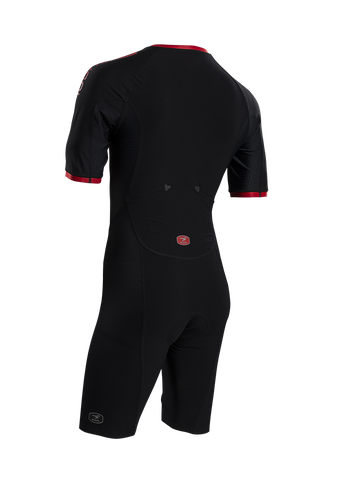 SUGOI Men's RS Tri Speedsuit, Black Alt (37106U)