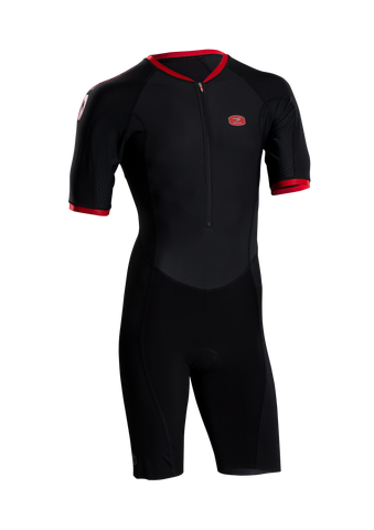 SUGOI Men's RS Tri Speedsuit, Black (37106U)