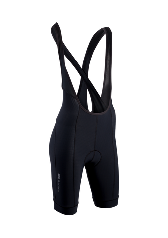 SUGOI Women's Evolution Bib Short, Black (39287F)