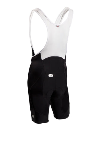 SUGOI Men's RS Pro Bib Short, Black Alt (39386U)