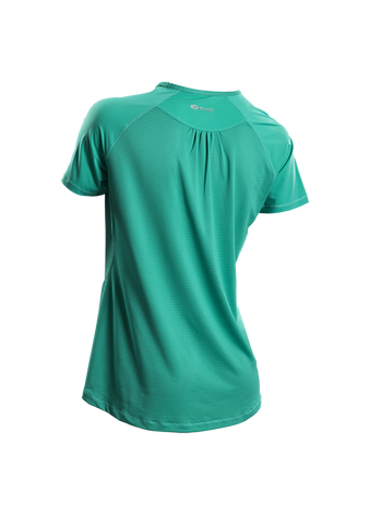 SUGOI Women's Fusion S/S, Light Jade Alt (50030F)