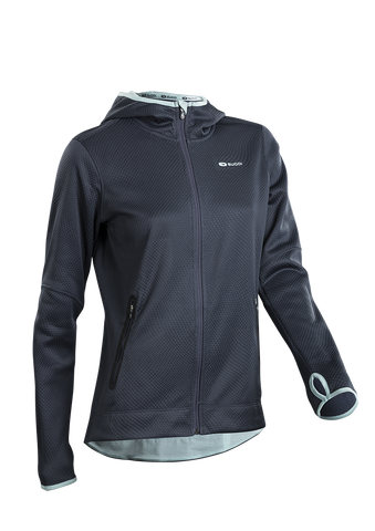 SUGOI Women's Ignite Hoodie, Coal Blue (64921F)