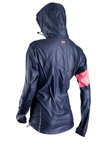 SUGOI Women's Run For Cover Jacket, Coal Blue Alt (71201F)