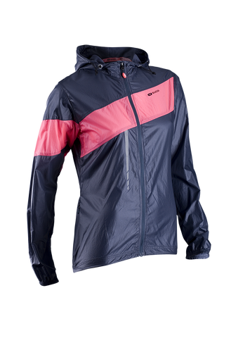 SUGOI Women's Run For Cover Jacket, Coal Blue (71201F)