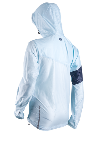 SUGOI Women's Run For Cover Jacket, Ice Blue Alt (71201F)