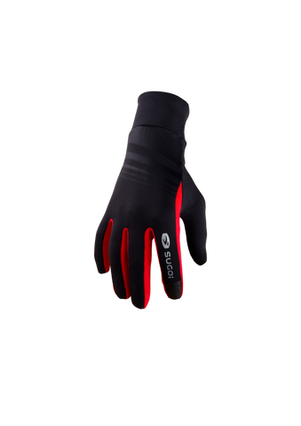 SUGOI LT Run Glove, Chili red Alt (91014U)
