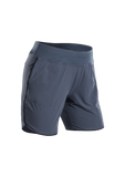 SUGOI Women's Prism 7 inch Short, Coal Blue (30328F)