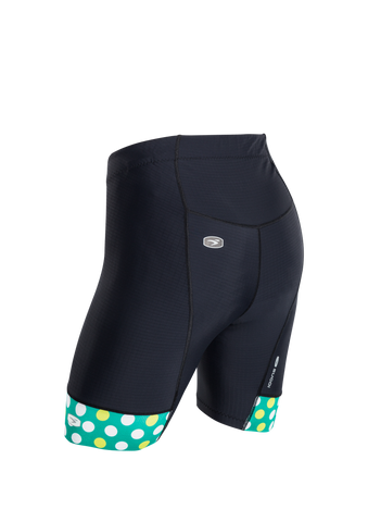 SUGOI Women's Evolution Short, Jade/Sulphur Alt (U382020F)