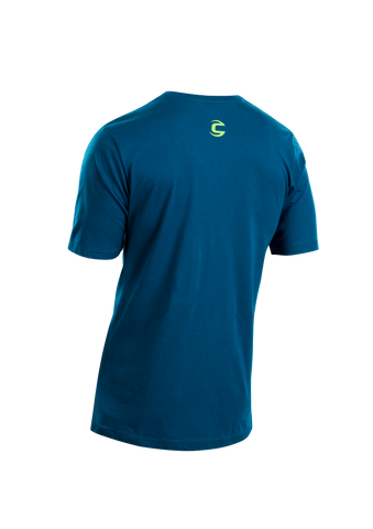 SUGOI Men's Casual Tee, Baltic Blue Alt (U508000M)