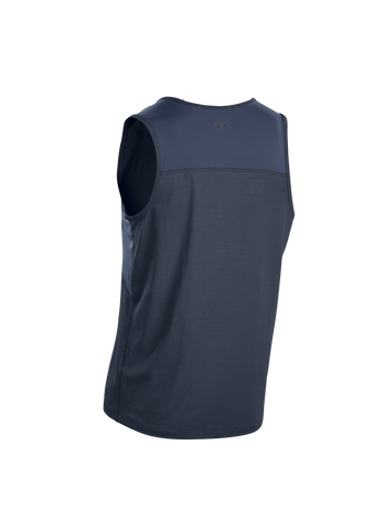 SUGOI Men's Titan Singlet, Coal Blue Alt (U550020M)
