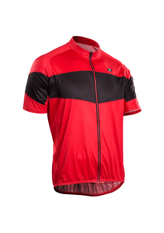 SUGOI Men's Classic Jersey, Chili Red 2 (U570000M)
