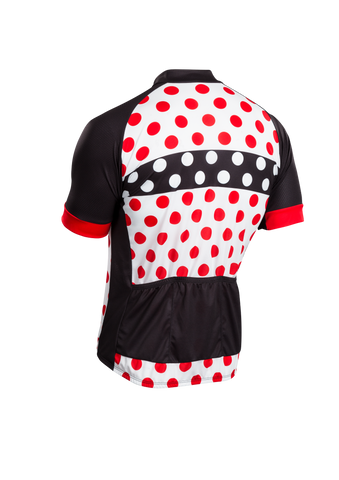 SUGOI Men's Evolution Zap Jersey, Chili/Black/White Alt (U576010M)