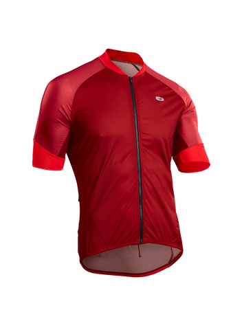 SUGOI Men's RS Century Zap Jersey, Red Dahlia (U575500M)