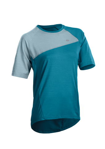 SUGOI Women's Trail Jersey, Ocean Depth (U580000F)